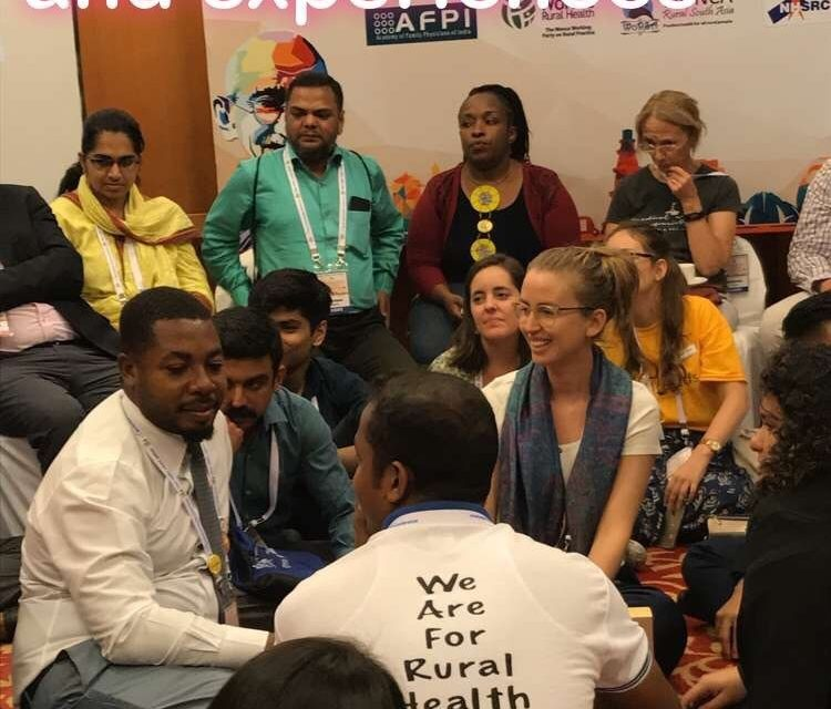 Young NSDM and Prosjekt Haiti at world congress in India