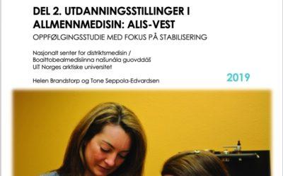 ALIS-Vest, del 2: Det satses på stabilisering!
