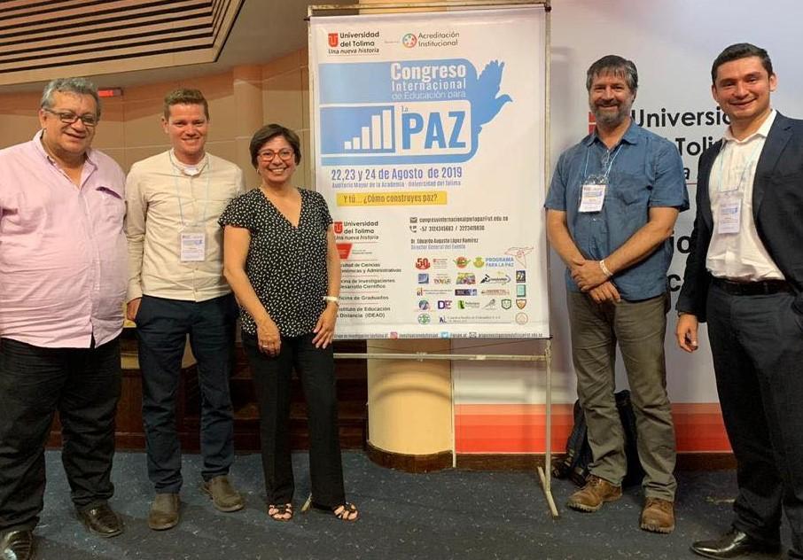 Colombiasamarbeidet presentert på internasjonal fredskongress