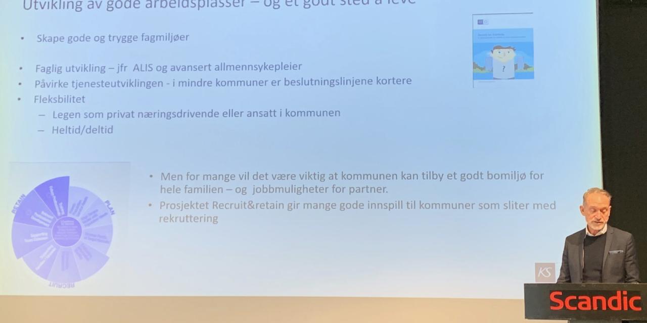 Framtidens legeordning i fokus på ALIS- Nord konferanse i Bodø.