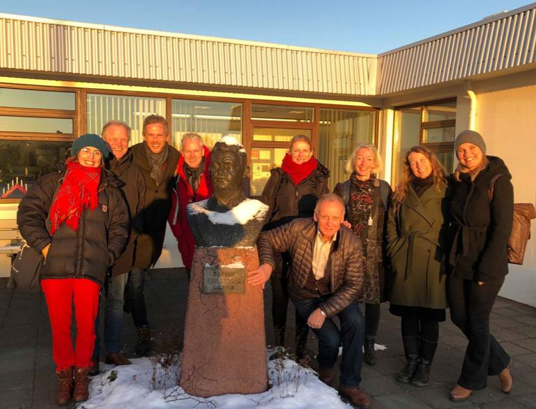 NSDM på studietur på Island – tverrfaglighet og distriktsmedisinsk nettverk
