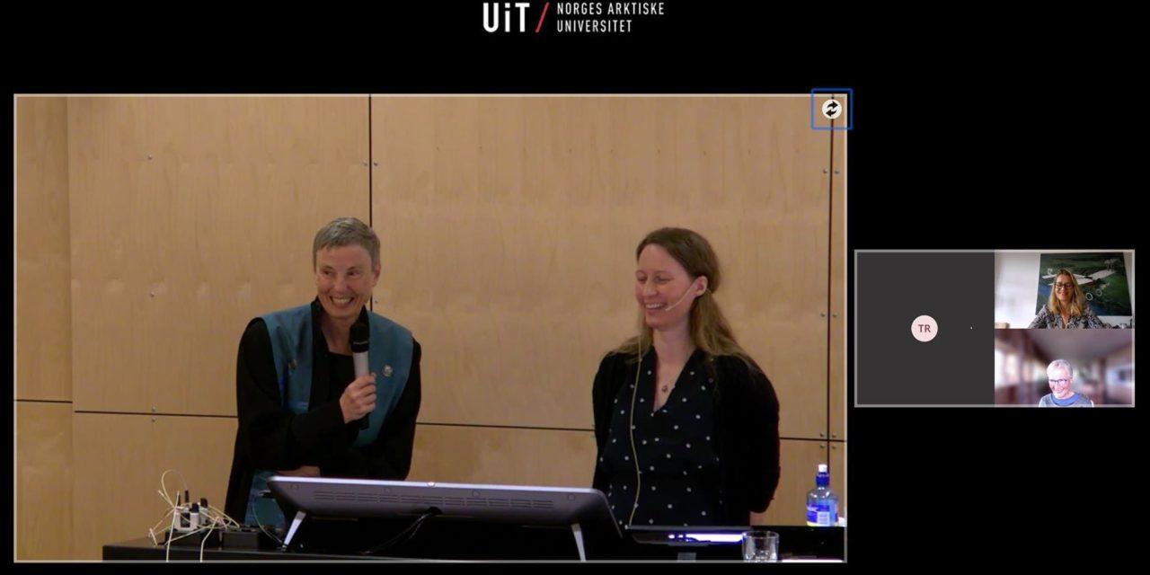 Vi gratulerer Maria Fredriksen Kvamme med doktorgraden!